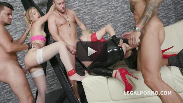Mistress Angel Wicky Vs Kira Thorn Latex Domination HD