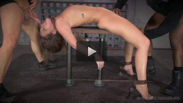 hard big cocks (Maddy O'reilly Shackled Down, Vibrated And Anally Pounded By 2 Big Cocks!)!