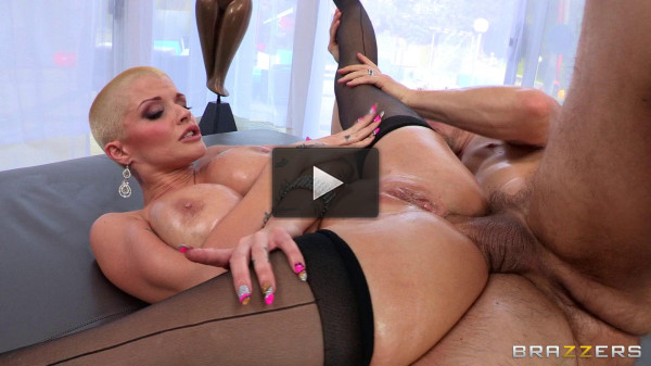 ass oiled vid huge (His Big Dick Slides Hits Her Sweet Spot).
