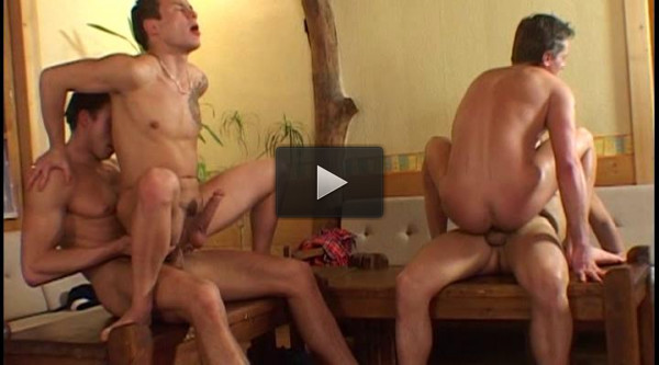 Nonstop Gangbang Party With Young Boys