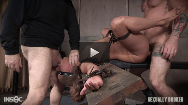 Julia Waters first ever porn shoot. Brutal throat fuckings, with amazing bondage - hot, online, hard, classic