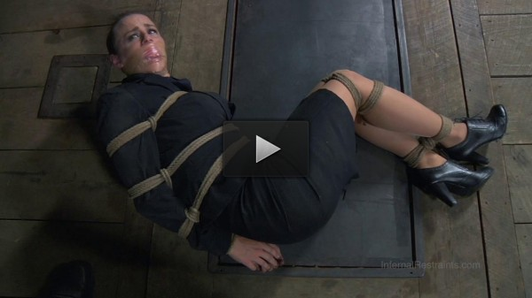 Bella Rossi Gets the Bondage, Corporal Punishment and Rough Fuck She Craves.