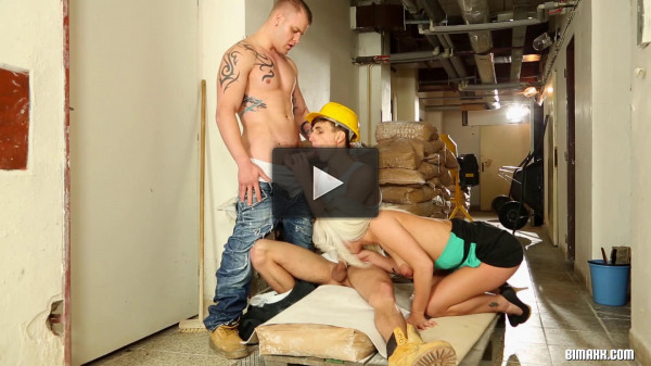 Hard Hats and Hard Cocks - online, three, gay, fantasy
