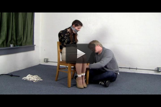 Chair Tied to Balltie