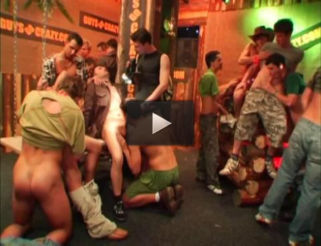 Gangbang Party With Cock Hunters At Club