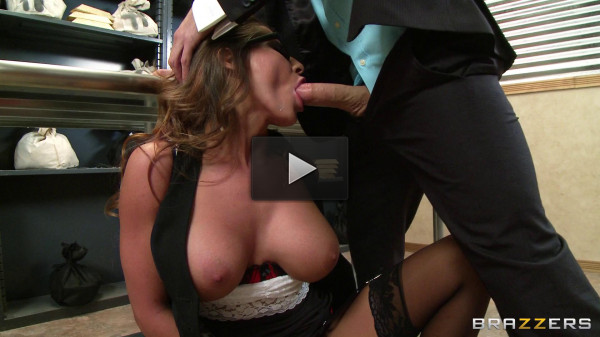 The Manager Finally Gets A Piece Of Her Ass