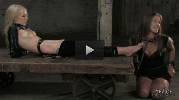 hand sex big horny (Hard bondage, torture, spanking and strappado for two hot models (1))...