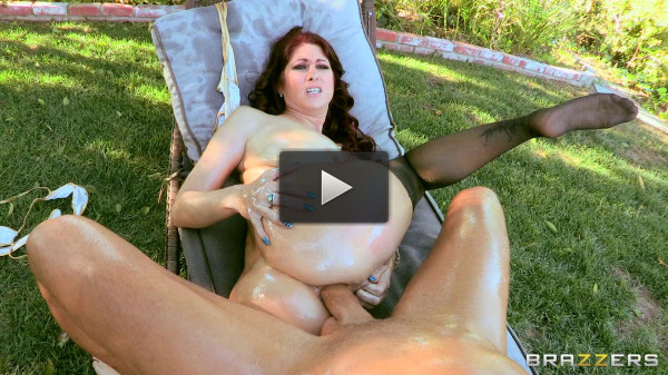 Redhead Milf With A Nice Butt Loves Riding Big Cock
