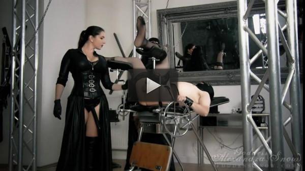 Goddess Alexandra Snow — Spread and Fucked