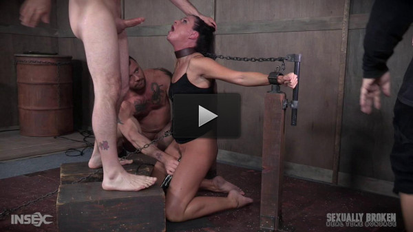 high heels video (India Summer's Recorded Live feed from May: Brutal bondage, fucking and deepthroating!).