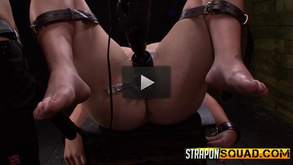 real blond (StraponSquad - Apr 08, 2016 - Pain Sex Slave Aryah May is Used & Wrecked).