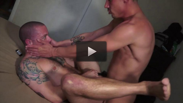 Rough mansex with huge dicks