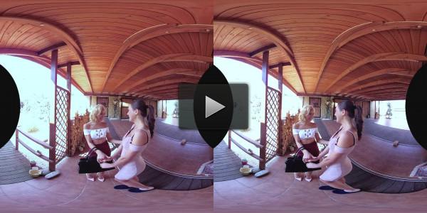 Tina Kay & Veronica Leal (Czech VR 210 - Wife's sex friend reunion