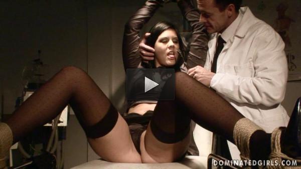 Domination of the Innocent Madison Parker — Extreme, Bondage, Caning