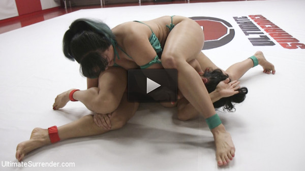 new strap on english - (Orgasm On the Mat! Penny Barber gets a huge lead in Round 1)