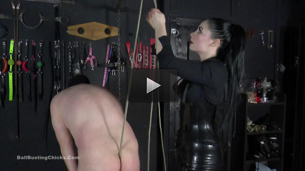 BallBustingChicks - SB - She almost Castrated him