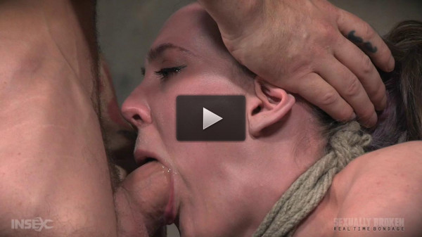 Sexuallybroken - Sep 05, 2016 - Sierra Cirque Face Fucked In Extreme Bondage!