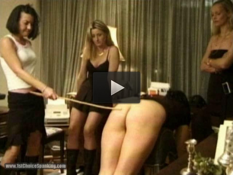 the party girls caning competition