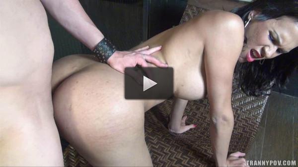 Hellen Sandorran — Hot Tranny Fucked and Facialed 720p