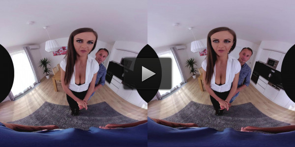 Czech VR 218 - Tina Kay's first DP in VR
