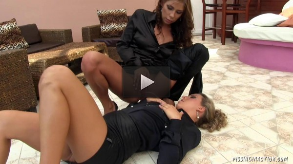 Two Piss Soaked Hot Ladies Have Started Their Own Party (bathroom, sexy, toys, file)