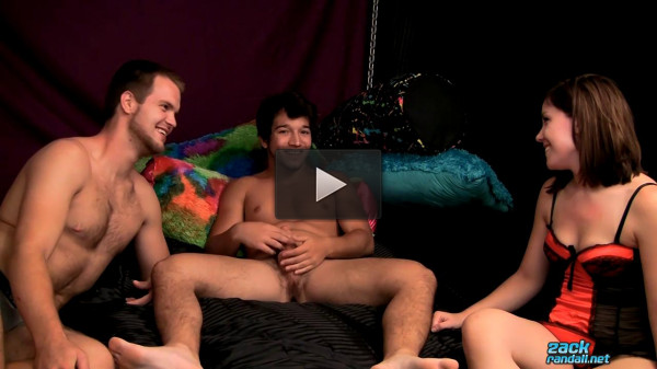 Billy Gets Fucked In A Threesome! - guys, hard, video, shots