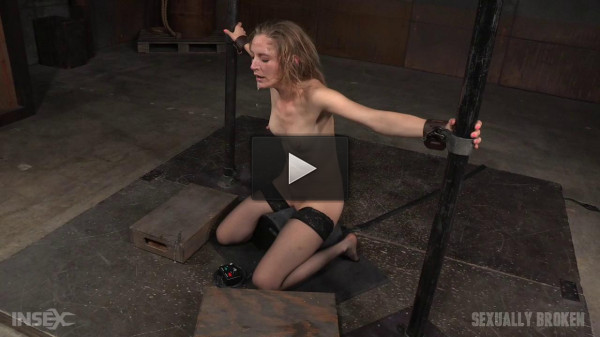 Toned all natural Mona Wales shackled onto sybian (tight pussy, orgasms, orgasm, throat)