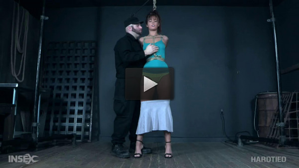 Bondage, suspension and torture for sexy brunette part 1 HD 1080p