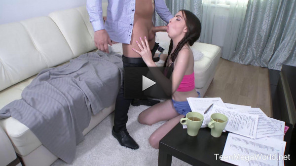 Milana Witch — The Young Tight Asshole is Attacked By A Huge Dick FullHD 1080p