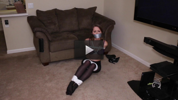 Captive Chrissy Marie - Exhausting Escape in Pantyhose 1080p.