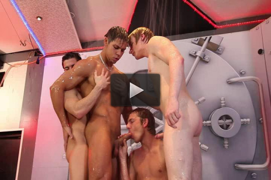 Hot exclusive orgy with young dicks