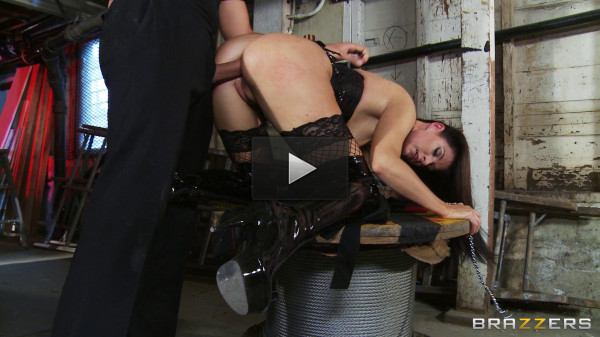 Sexy Brunette Gets Her Ass Fucked By The Big Cock - love, big cock, natural...