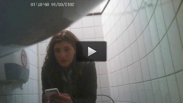 Hidden Camera In The Student Toilet — Vol. 3 - HD 720p