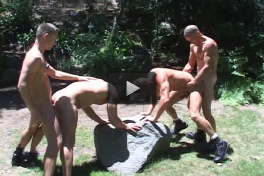 Pounded outdoor orgies