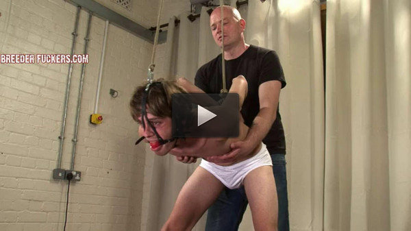 Bound and gagged for Aiden