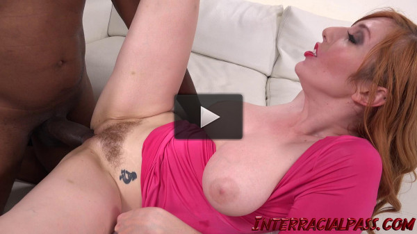 Ginger Lauren Phillips Takes Monster Black Cock In The Ass