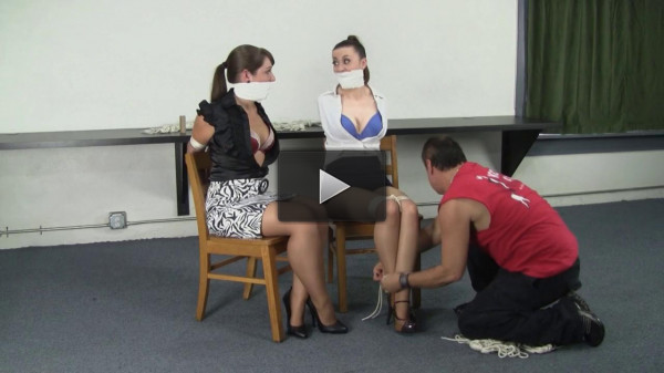 Serene Isley, Elizabeth Andrews, and Dominic Wolfe : Tethered together (make, dom, waiting, download)