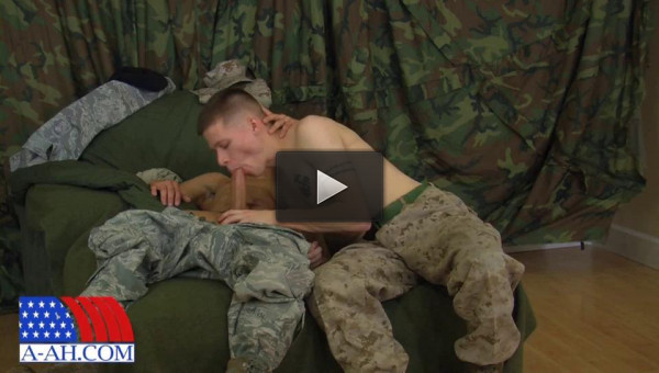 All-American Heroes — Corporal Anderson Fucks Airman First Class Paolo