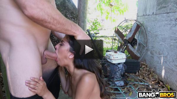 In Public With Latina Beauty Sophia Leone — Full HD 1080p