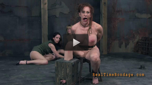 RealTimeBondage - Catherine De Sade - Foot Pain - 720p.