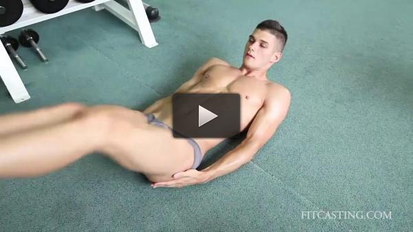 Fitness Model — Philipp — Upper Body Strength Workout