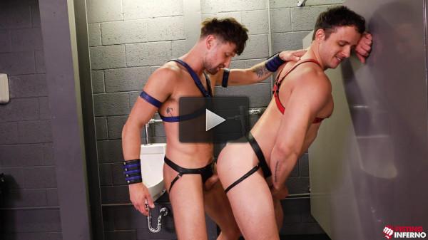 ClubInferno Nate Grimes & Drew Dixon — Backdoor Bathroom Scene 01