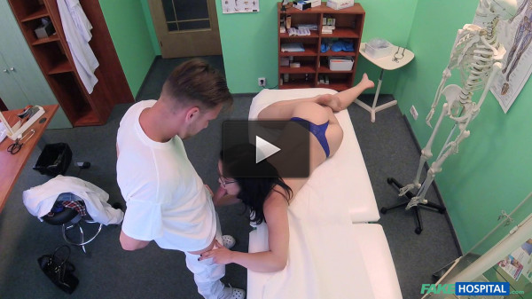 Dolly Diore — Sexy Babe Orgasms on Doctors Cock (2016)