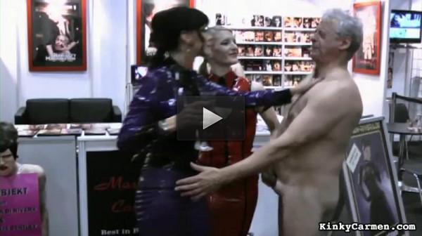 Im Auftrag Der Herrinnen (slave, video, watching).