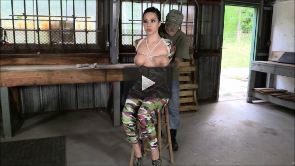 She Let Me Hogtie Her And Take Her Tits Out Now In Ultra HD