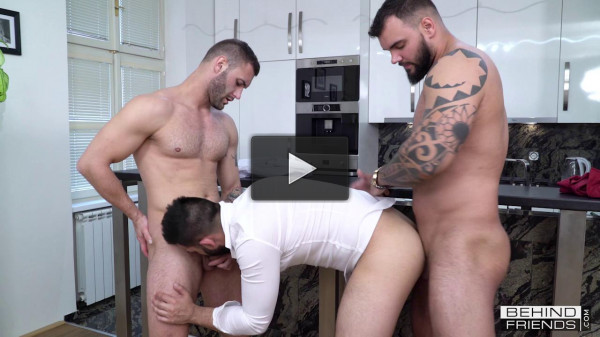 Hot Threesome Ray, Vito & Jerome (720p)
