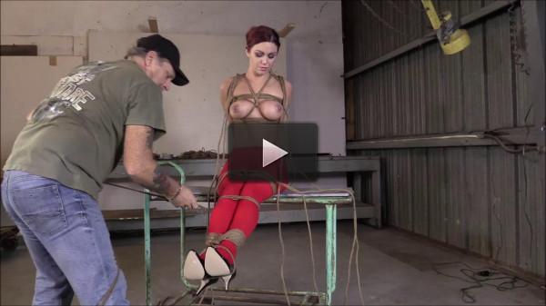 Brendas Bondage — Hogtied Hung And made To Cummmmm