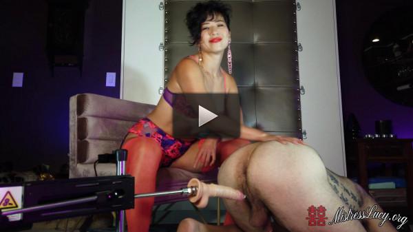 Mistress Lucy Khan — Fucking Machine Anal Pounding — ManyVids