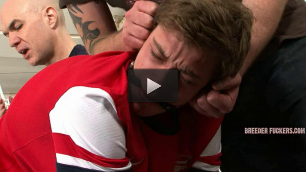 Shackled and gagged for Aiden
