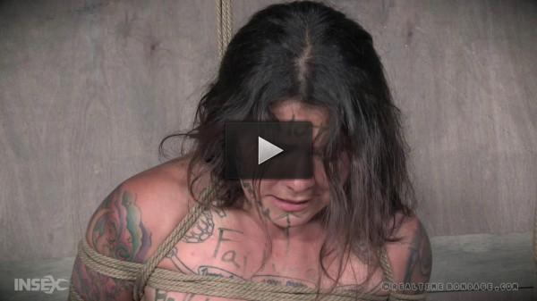 Tess Dagger - hard, ass, tied, real, hand